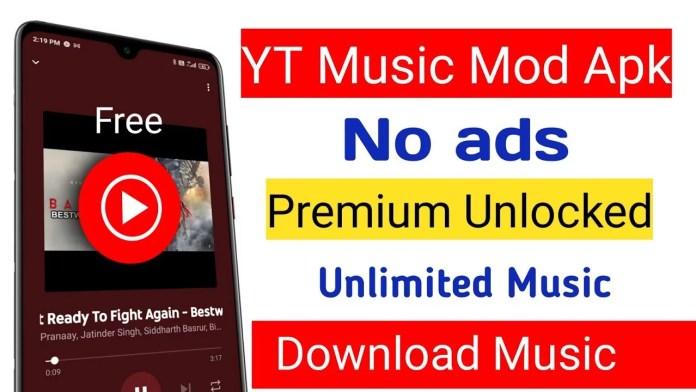 YouTube Music Premium Mod APK