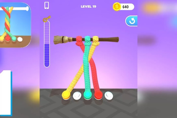 Tangle Master 3D Mod APK Free Download