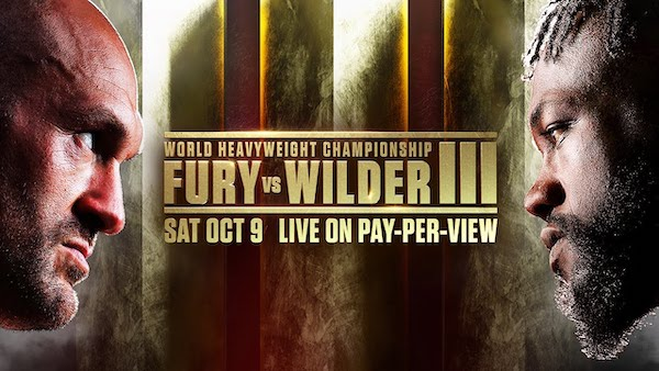 Watch Wrestling Fury vs. Wilder 3 10/9/21 Live PPV