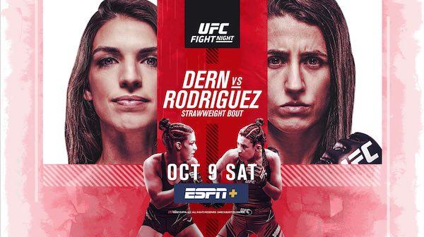 Watch Wrestling UFC Fight Night Vegas 39: Dern vs. Rodriguez
