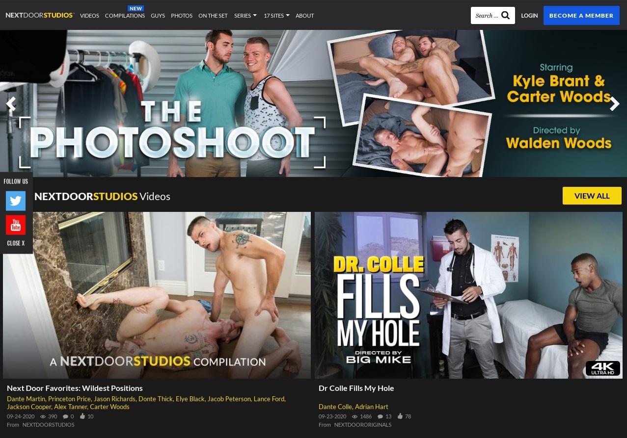NextDoorStudios - Premium Gay Porn Sites