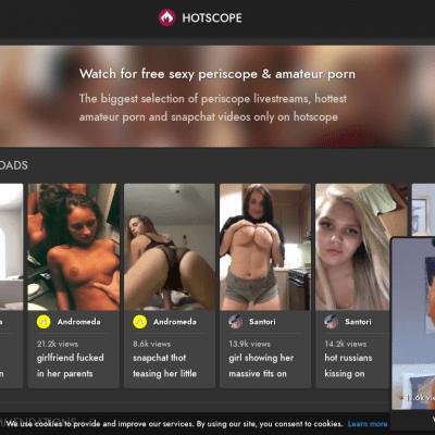 Hotscope - Amateur Porn Sites