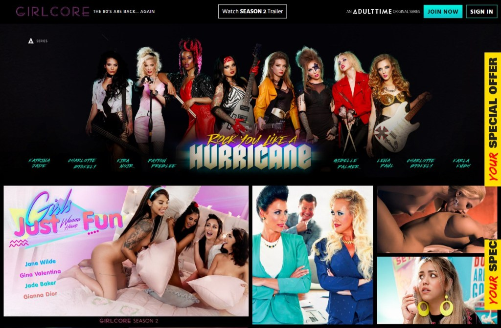 Girlcore - Premium Lesbian Porn sites