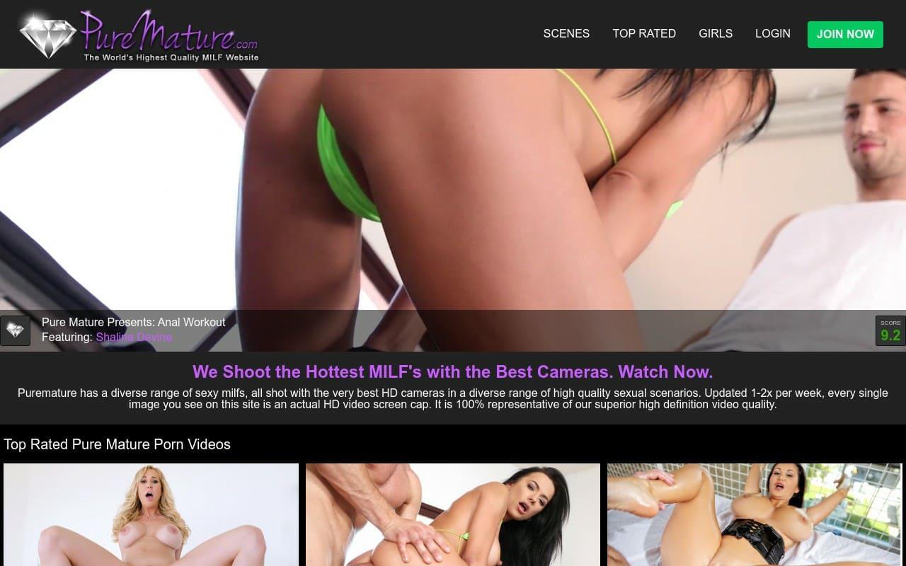 PureMature - best Milf Porn Sites
