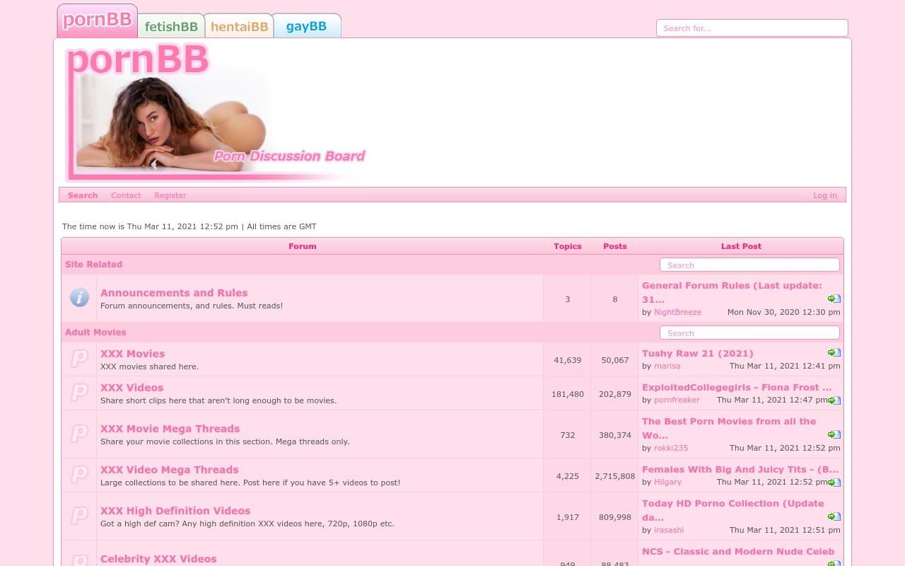 Pornbb - best Porn Forums