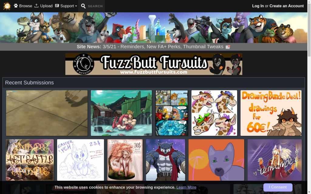 Furaffinity - best Hentai Porn Sites