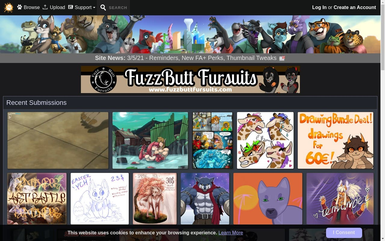 Furaffinity - best Hentai Porn Sites