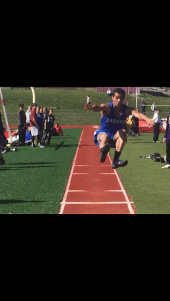 Blake Boykin: long jump