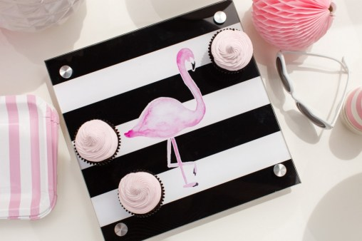 Flamingo Party Kit + Free Printables from The TomKat Studio