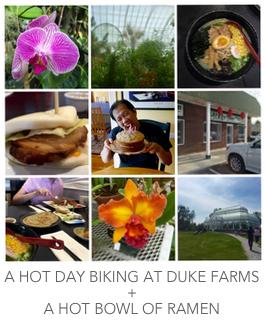 Duke Farms Bike Ride and Ramen