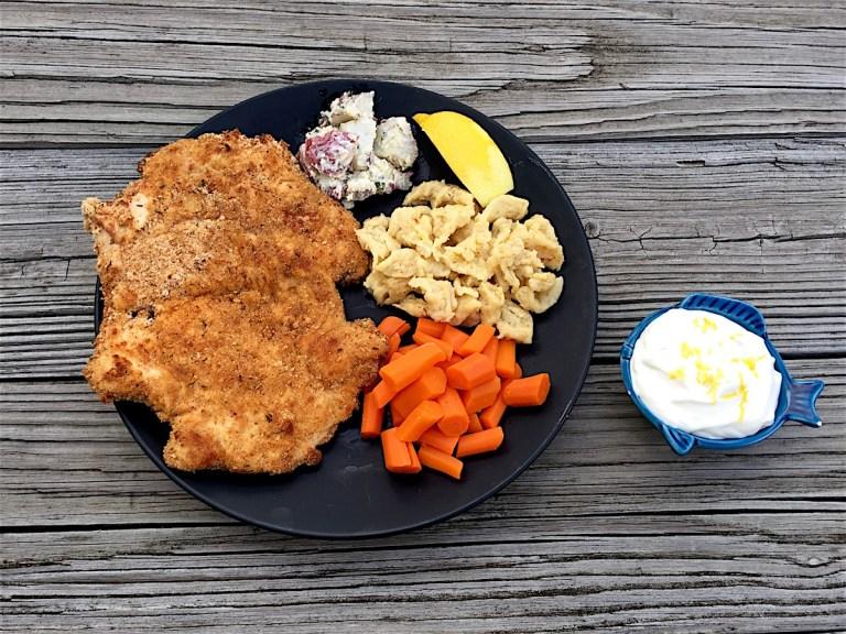 Baked-Chicken-Schnitzel