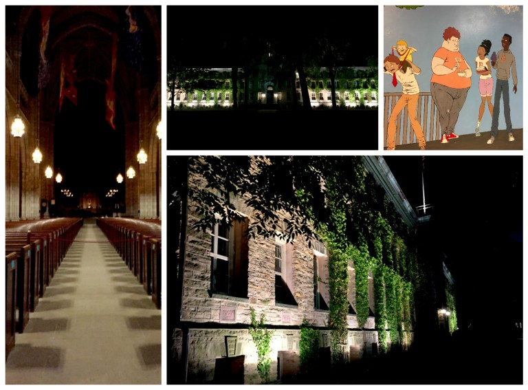 princeton-university-nighttime-collage