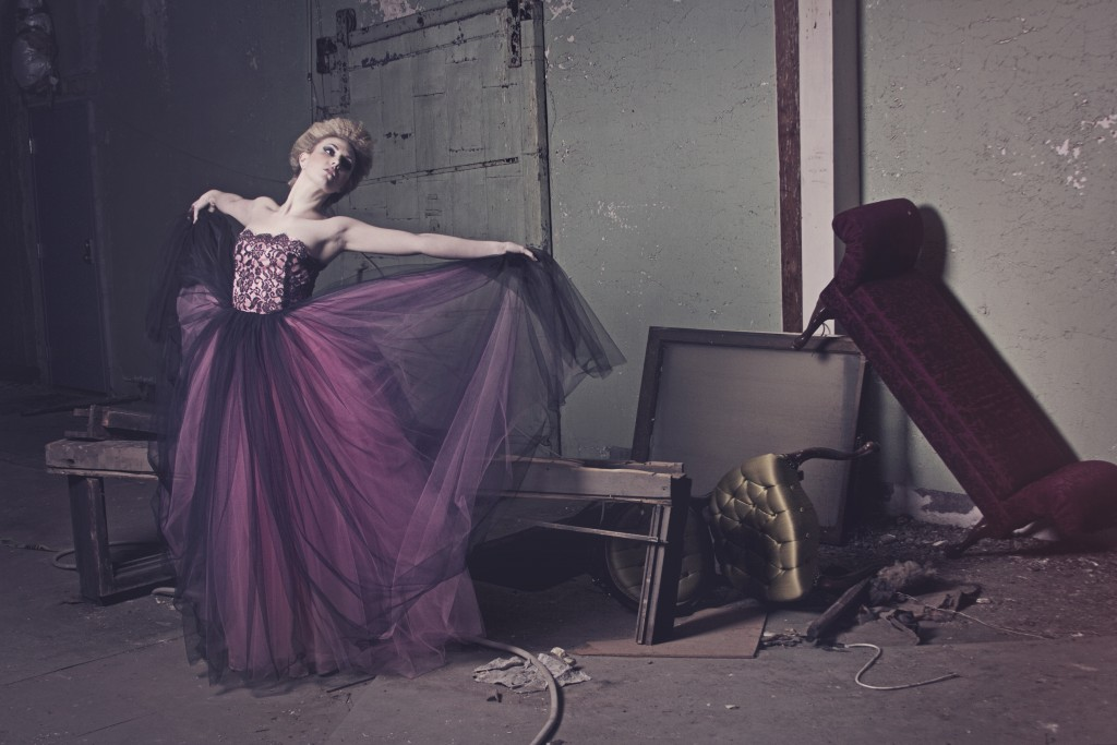 Belle Epoque Editorial with Tidal Cool Couture Gowns