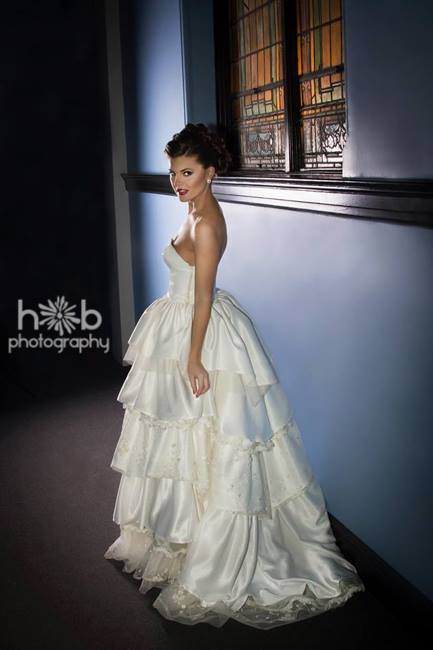 Hilary Bishop Photography, Tidal Cool Bridal Gown, Hair & Makeup by Swank Hair Studio.