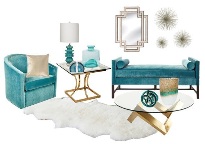 Decorating with Jewel Tones // allynlewis.com