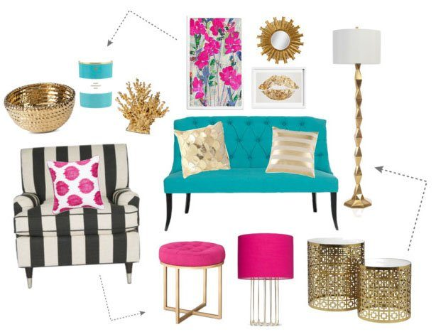 Decorating a space with vibrant and bold colors // Daily Dose of Design
