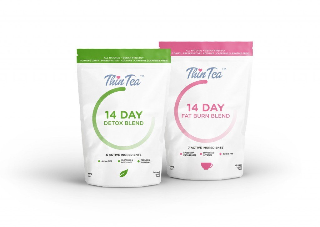 14 Day Thin Tea Detox // allynlewis.com