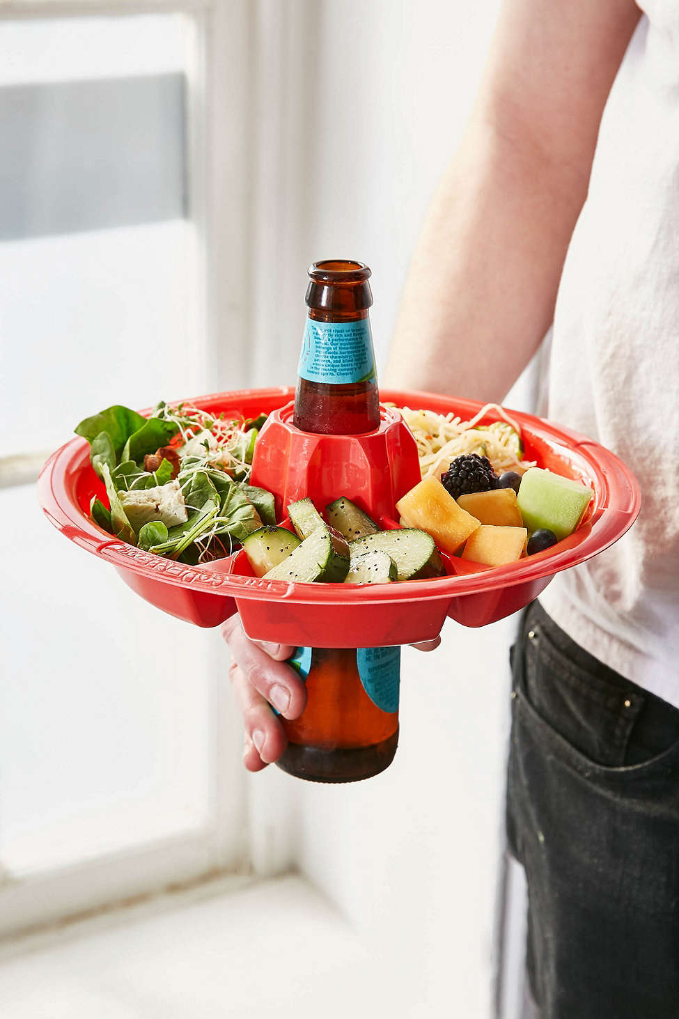 beer and food holder | Any one of these finds from Urban Outfitters could make your next get summer together the party of the century.