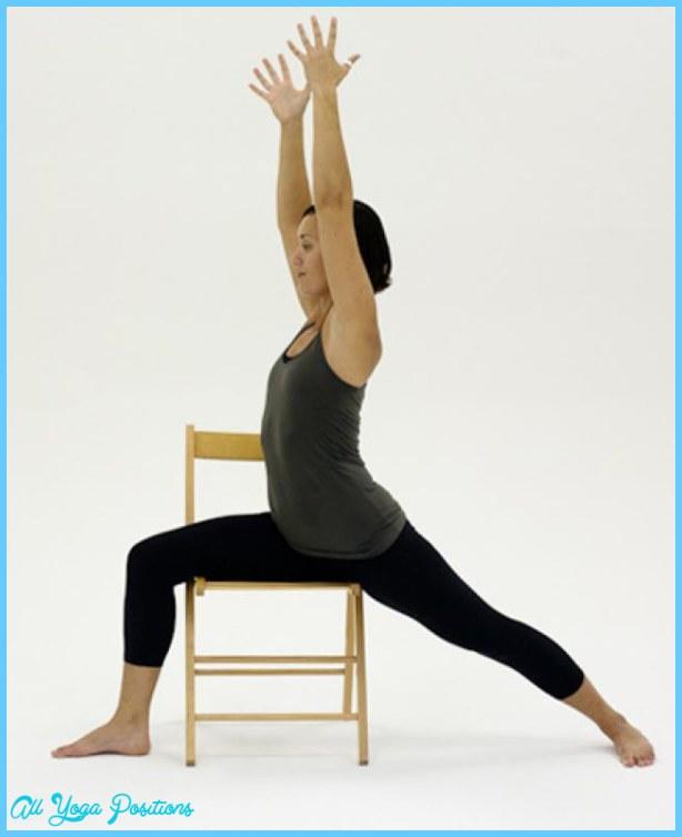 Yoga poses chair  AllYogaPositionscom