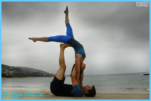 Bff Yoga Poses For 2 People Abc News