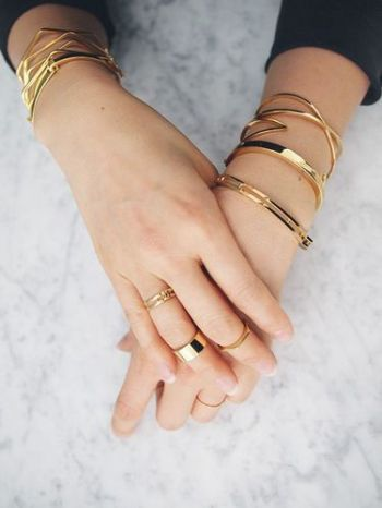 Delicate Gold Jewels