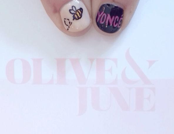 """Olive & June """"Beyoncé"""" Nails"""