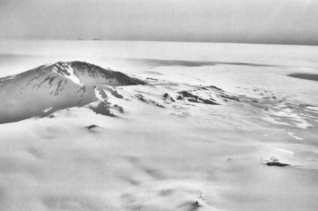 Antarctic ice sheet picture