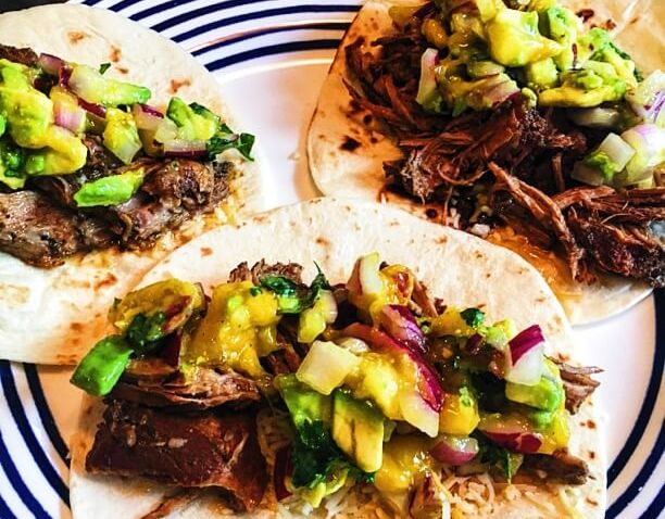 Slow Cooker Jerk Pork Tacos