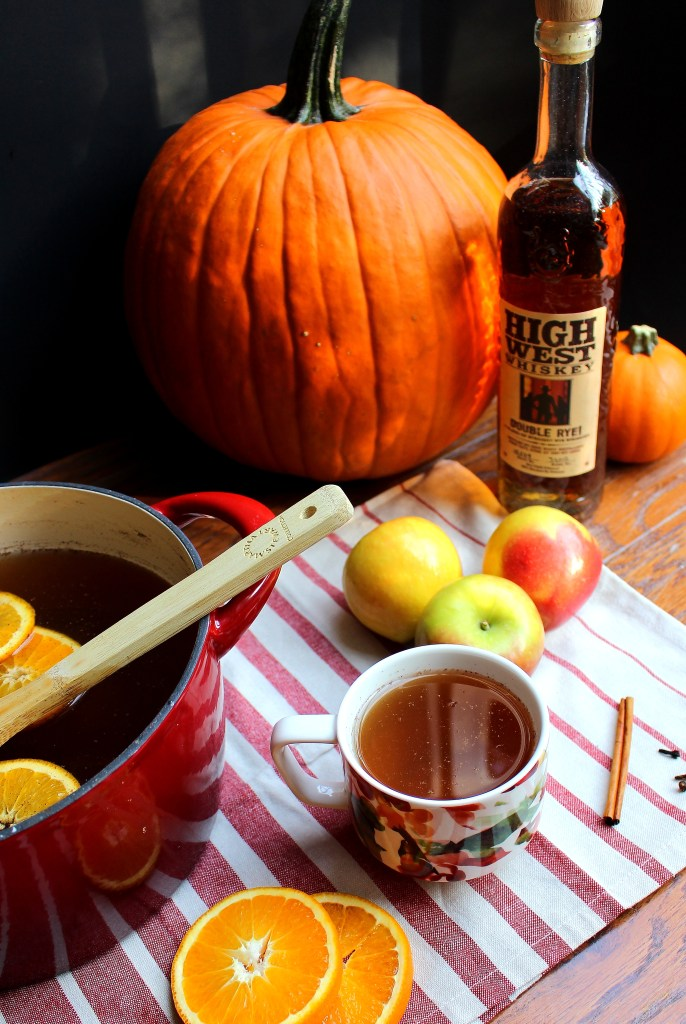 Mulled (and Spiked!) Hot Apple Cider