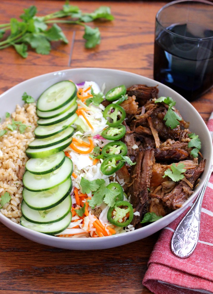 Banh Mi Brown Rice Bowls