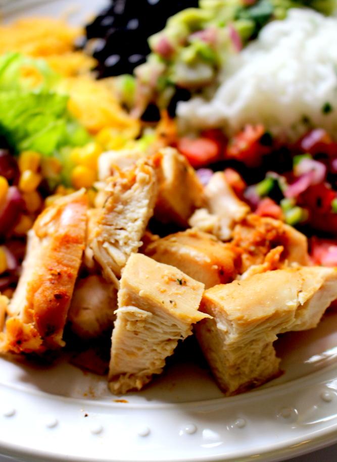 Copycat Chipotle Chicken and Marinade Recipe