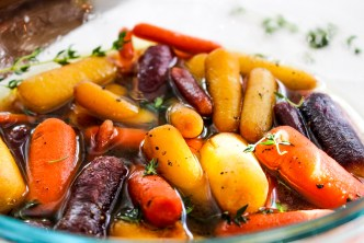 Whisky Glazed Carrots