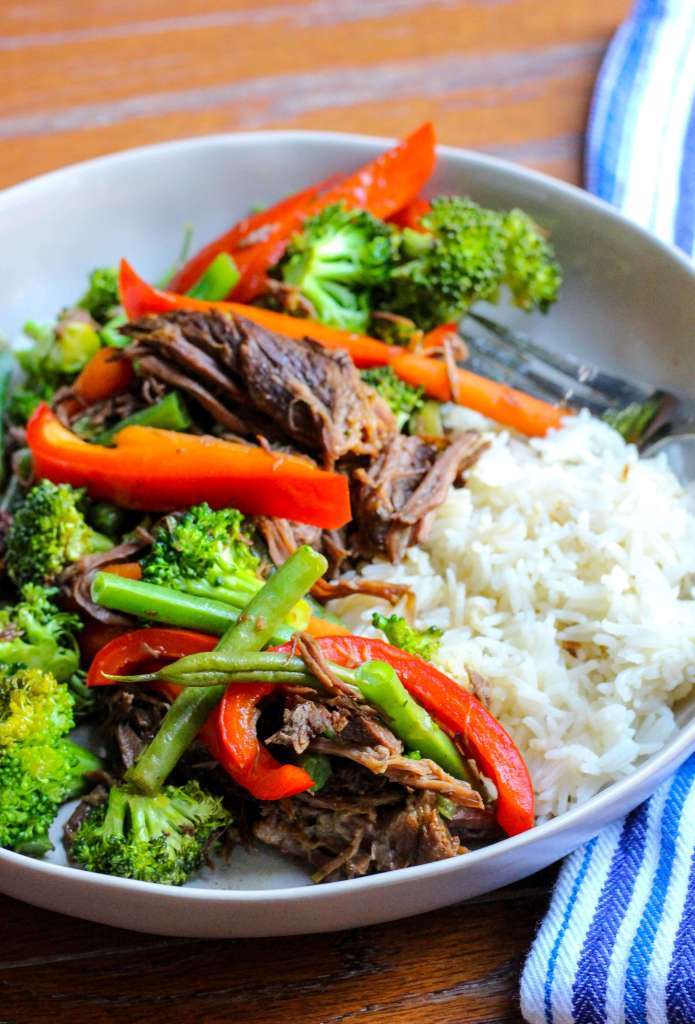 Slow Cooker Asian Beef and Broccoli