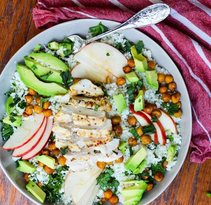 Chickpea and Cauliflower Salad