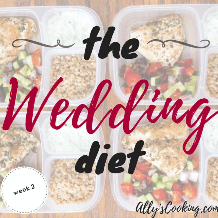 The Wedding Diet: Week 2