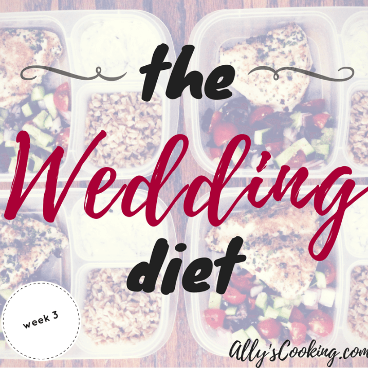 The Wedding Diet Meal Plan: Week 3