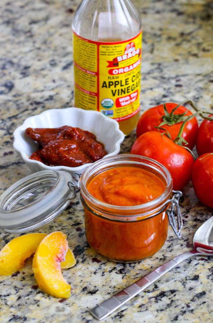 Paleo Peach Chipotle Barbecue Sauce