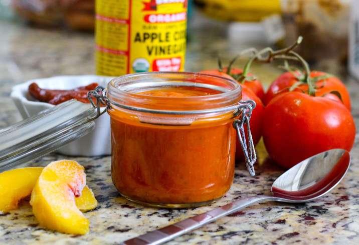 Paleo Peach Chipotle Barbecue Sauce