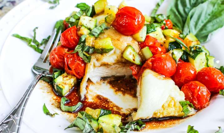 Sheet Pan Caprese Chicken