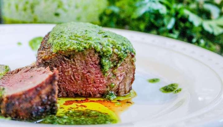 Grilled Chimichurri Steak