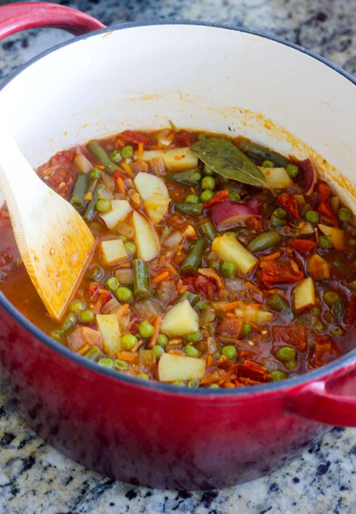 Easy Mix-and-Match Vegetable Soup