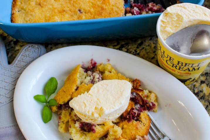 Pioneer Woman's Blackberry Cobbler