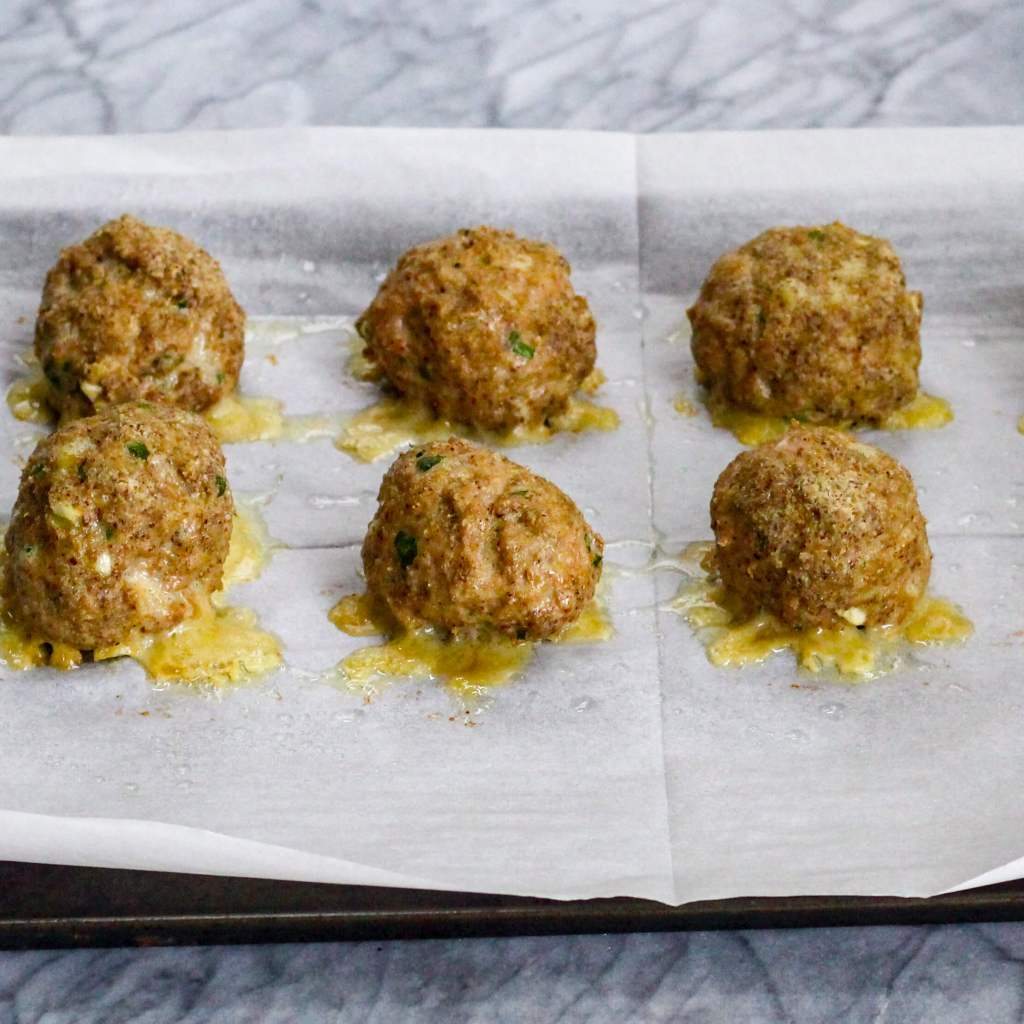 Baked Turkey Meatballs (Whole30/ Paleo)