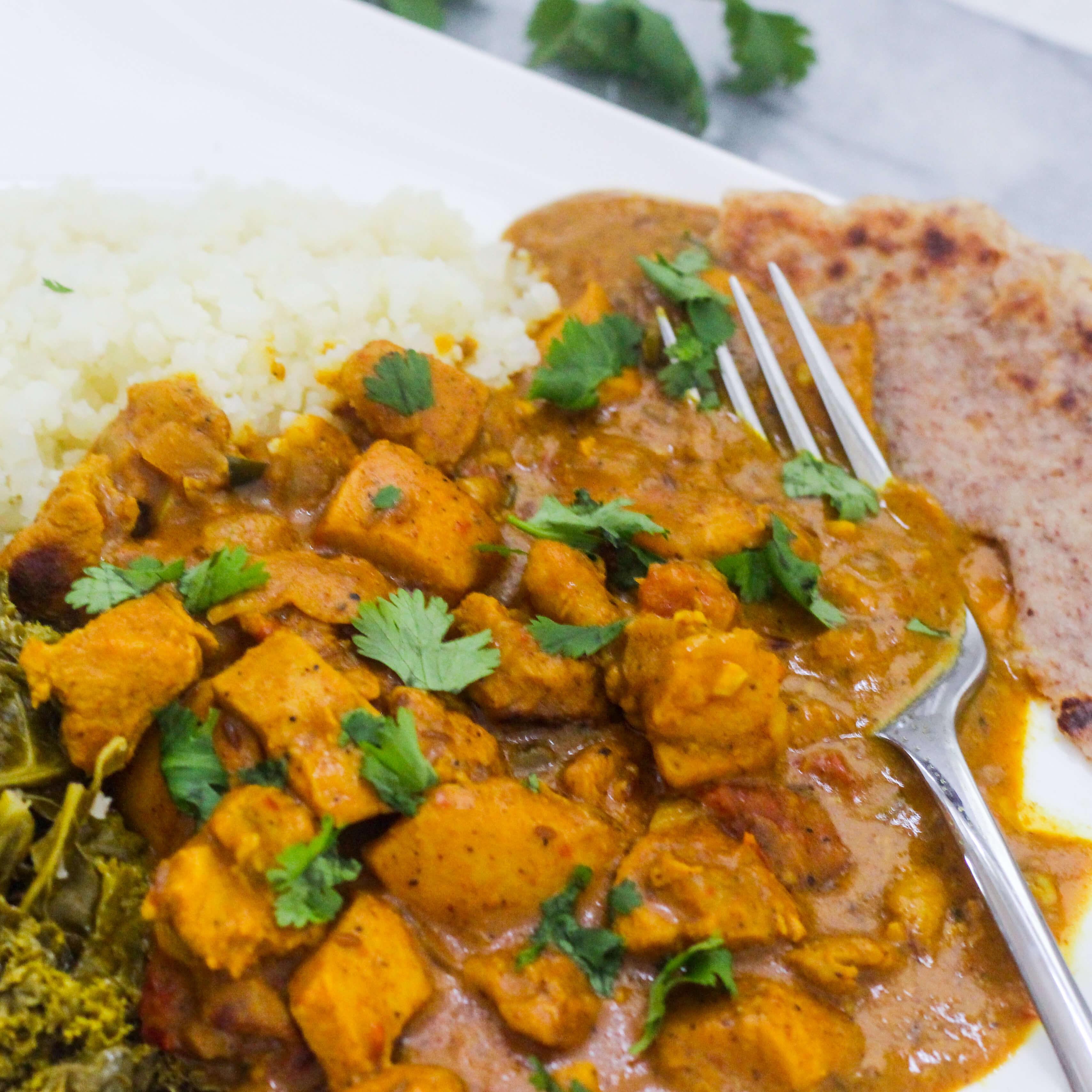 Healthier Indian Butter Chicken