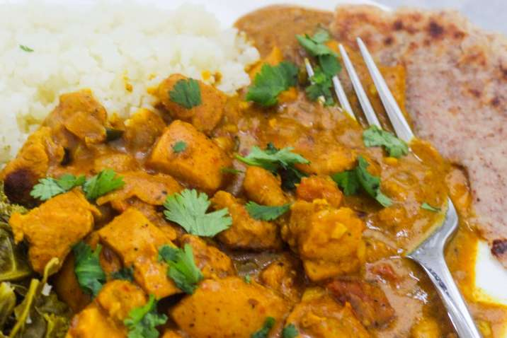 Healthier Indian Butter Chicken