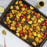 Sheet Pan Pesto Chicken and Veggies