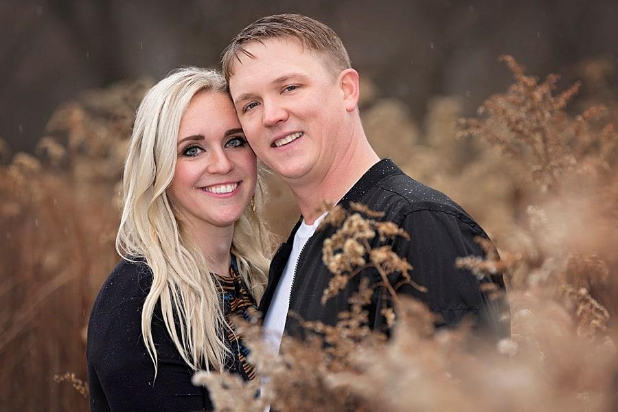 Madison Engagement Photos at Park