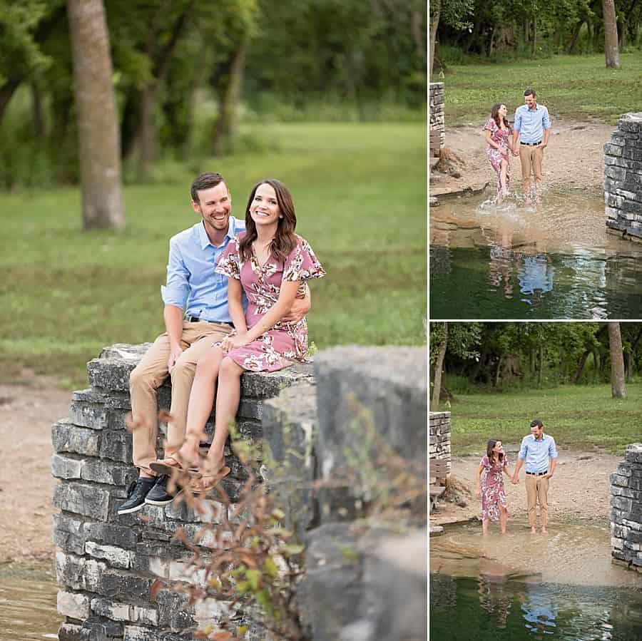 Milwaukee Engagement Photos at Menomonee Park