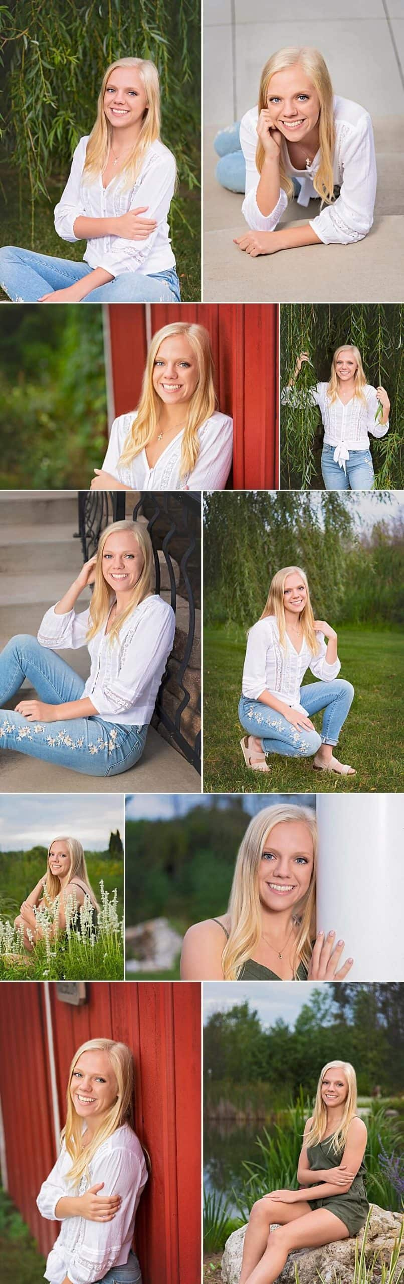 Slinger Senior Pictures at The Florian