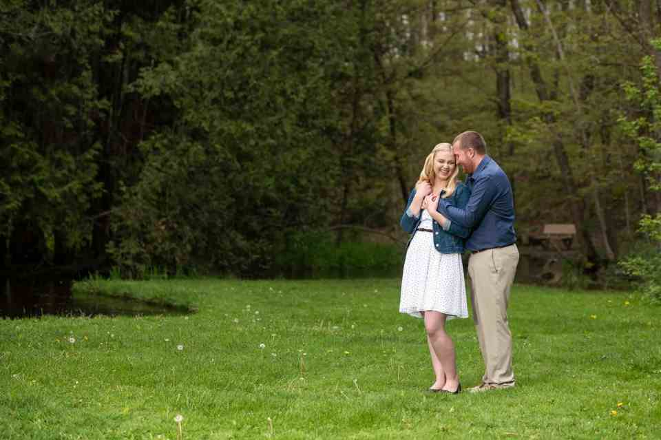 Engagement Photos at Richfield Historical Society